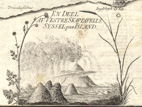 About the earthquake in Iceland in the year 1783