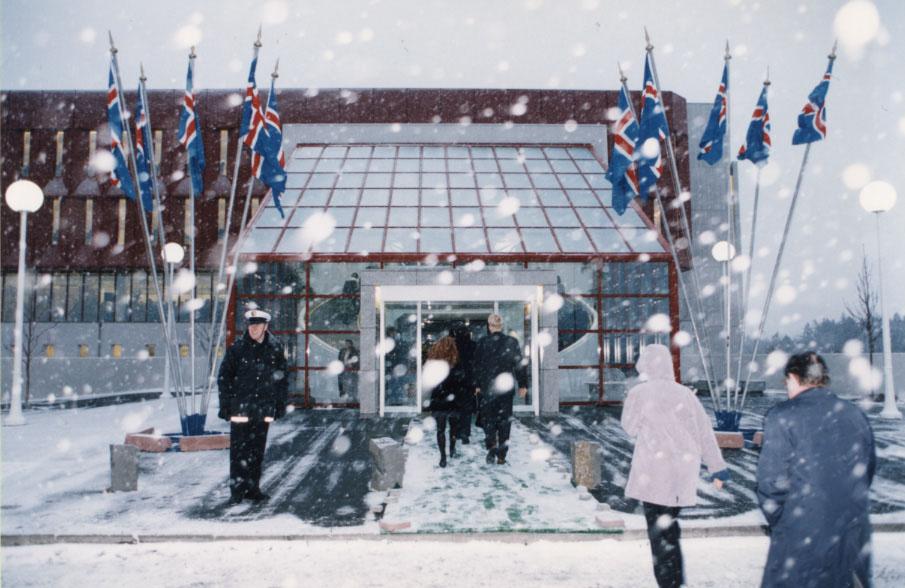 Þjóðarbókhlaðan 25 ára