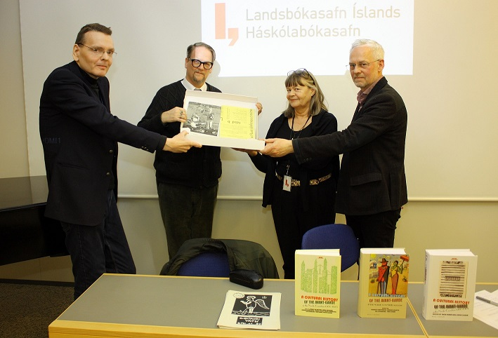 Medúsa – a lecture and an agreement on publications and manuscripts