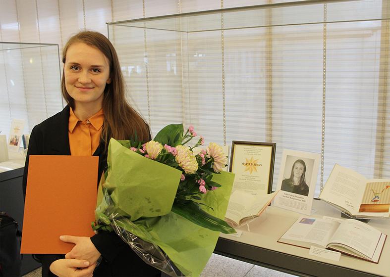 Halla Þórlaug Óskarsdóttir wins The May Star Poetry Prize
