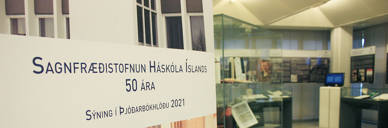 The Institute of History at the University of Iceland - 50th anniversary