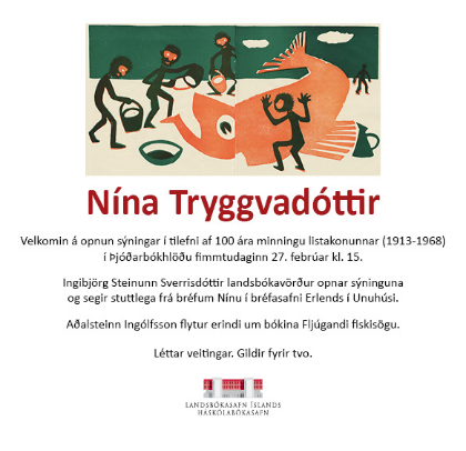Nína Tryggvadóttir - aldarminning